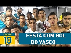 Elenco do Corinthians FAZ FESTA com gol do Vasco sobre Santos! (portalminas) Tags: elenco do corinthians faz festa com gol vasco sobre santos