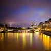 Paris (Zeeyolq Photography) Tags: seine night bridge eiffeltower parisview paris notredamedeparis water