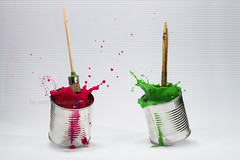 flying brushes (Antonio Iacobelli (Jacobson-2012)) Tags: bungeejumping splash highspeed watercolor acrilic colors ink bari nikon d850 nikkor 60mm