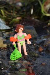 Kätscher 1 (Klickystudios) Tags: playmobil outdoor ostsee strand wasser