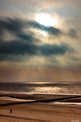 Zeelande (auroremphotos) Tags: zeelande zoutelande coucherdesoleil plage mer