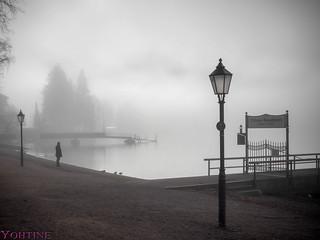 Morning at the Titisee *lake titi*