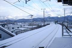 Tsutsui Station (しまみゅーら) Tags: fujifilm xe2 xf 35mm f14 ebc fujinon astia oneday shimokita hachinohe train trip