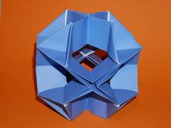 Xrystal (ISO_rigami) Tags: modular origami 3d a4 sid sidx cube polyhedron rectangular eckhardhennig