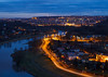 Praha z Bohnické vyhlídky (Honzinus) Tags: praha prague czech čechy cz bohnice hradčany sedlec vltava řeka
