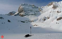 Ski Touring (YellowSingle 单黄) Tags: ski touring plaa segounet ger snow ice mountain pyrénées range leica