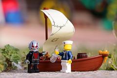 Ship in a Bottle? (Frost Bricks) Tags: lego ship bottle antman