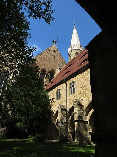 20170528 01 252 Regia Merseburg Dom Kreuzgang Kreuz Turm