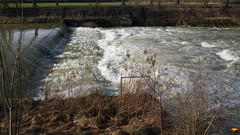 """Iller -der Fluss > / Iller -the river > / Iller -la rivière > (warata) Tags: 2018 deutschland germany süddeutschland southerngermany schwaben swabia oberschwaben upperswabia schwäbischesoberland badenwürttemberg iller illertal illerderfluss river fluss landschaft landscape flusslandschaft winter januar """"samsung galaxy note 4"""""""