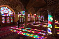 Masjed-e Nasir-al-Molk (chrissomos) Tags: 2018 iran travel mosque quajar color glass