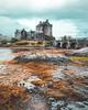 Eilean Donan (semgeerts) Tags: schotland scotland eilean donan river teal orange high lands highlands castle mountains hills forest