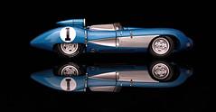 1957 Corvette SS, The Original Super Sport (makethingsdevelop) Tags: reflection corvette blue black model 118 automobile auto chevrolet chevy silver autoart car