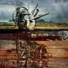 Rust Belt (Vincent Mattina (aka FLUX)) Tags: rust america coldwar buried landscape ruins apocalypse underground unconscious face machine