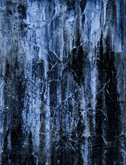 Haunted (Katrina Wright) Tags: dsc2588 abstract surreal bluegrey stalactites faces gameofthrones thewall haunted scary creepy