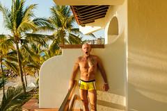 cssPVR-0073 (chucksmithphoto) Tags: buganviliasresort buganviliasvacationclub chuck jalisco mexico puertovallarta man shirtless swimsuit