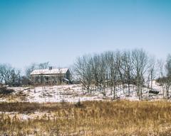 Old Barn (brianloganphoto) Tags: warwick regions day rural snow trees abandoned road skylandscape route17a barn northamerica orangecounty florida unitedstates conditions newyork field goshen us