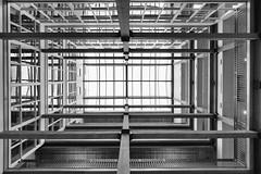 Skylight (JCTopping) Tags: 6d up 19mm atrium architecture texas canon blackandwhite dallas skylight unitedstates us