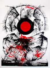 GEDC4580 copy (raulyaraujo art) Tags: arte abstrata nanquim papel art paper expressionismoabstrato expressionism pintura paiting