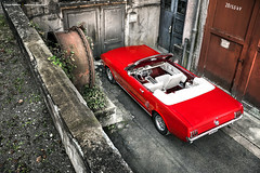 1966 Ford Mustang Convertible - Shot 3 (Dejan Marinkovic Photography) Tags: 1966 ford mustang cabrio convertible classic car red ponycar