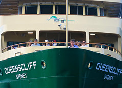 Queenscliff Sydney (Mondmann) Tags: queenscliffsydney ferry boat transportsydneyferries passengers sydney nsw newsouthwales australia circularquay sydneyharbour watercraft mondmann canonpowershotg7x travelphotography