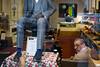 #23 Untitled (shoe shop) (Richard Stern) Tags: streetphotography shoe shop humanaquarium london mannequin