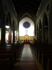 Peaceful (Ian Robin Jackson) Tags: church light sony aberdeen scotland building architecture interior dark scottish aberdeenshire arch