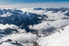 Elevated (tomi.a) Tags: italy italia dolomites dolomiten dolomiti sasspordoi clouds view sight outlook high mountains mountain snow winter alps skiing sky sunlight daylight horizon trees forest white cliff landscape snowscape travel above flickr cold d850 outdoor nature aerial