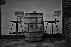Bar _DSC0113 (ikerekes81) Tags: nashvilletennessee barrel bar blackandwhite monochrome street streetphotography art nashville tennessee