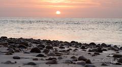 2017 - 12-28 - Landscape - Moana - Sunset 01.jpg (stevenlazar) Tags: pylons beach ocean sunset australia colour water moana waves jettyruins adelaide 2017 southaustralia clouds