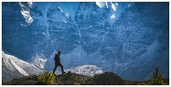 Annapurna (Chamikajperera) Tags: nepal landscape canon mouintains hike beautiful view annapurna long lens