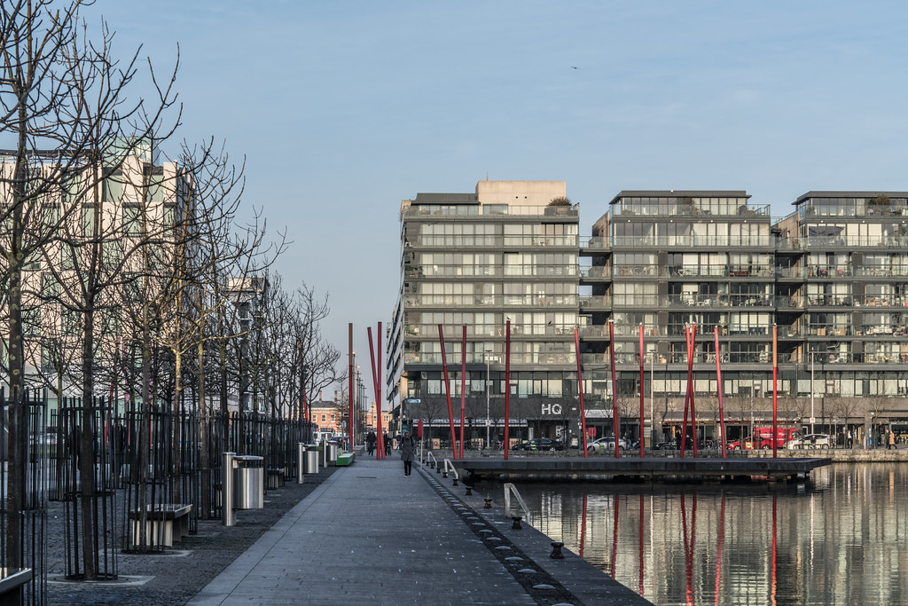 GRAND CANAL DOCK AREA OF DUBLIN [PHOTOGRAPHED 11 JANUARY 2018]-135443