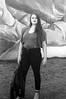 First Sunday Vintage Fashion - Devin Emily Rollman (mattbellphoto) Tags: nikonf2 85mmf14 kodak trix 400tx pushprocess 35mm film bw blackandwhite xtol firstsunday vintagefashion
