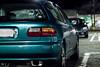 clean (richardle781) Tags: jdm honda hatchback night parking lot chillin teal dream bseries
