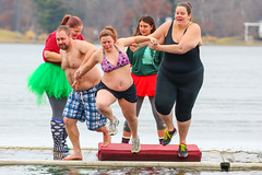 Polar Bear Jump 2018 (Steve Brezger Photography) Tags: charities cold divers fundraiser jumpers lake outdoor plunge polardip portagelake splash water