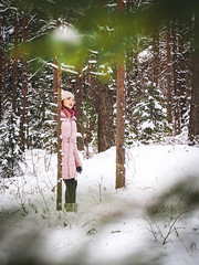 ↟ales o↟ ↟he ↟ores↟ (Kalev Lait photography) Tags: woman portrait portreature forest winter snow narnia wonder explore photoshop lightroom nature people adventure conceptual snowy silence calm trees snowytrees peace pines walk halfhuman outdoors idaviru estonia listen