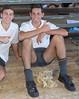 17 (cane4u) Tags: boy boys schoolboy schoolboys teenage teenager school uniform grey shorts socks tie blazer spanking headmaster corporal punishment discipline cp cane caning strap tawse paddle birch