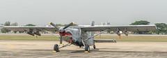Fairchild AU-23A Peacemaker - Royal Thai Air Force 2087 (Gösta Knochenhauer) Tags: 2018 january panasonic lumix fz1000 dmcfz1000 bangkok thai thailand royal air force aircraft plane museum p9130500nik p9130500 nik warbird fairchild au23a peacemaker childrens day 2087