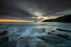 Back Again (ianbrodie1) Tags: sunrise coast sea seascape ocean old hartley lighthouse whitleybay seaton sluice rocks longexposure leefilters lee filters cloud cloudporn colour moody cliff
