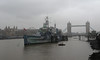 Rainy days (Treflyn) Tags: rainy days very wet january day today soaked london view tower bridge toweroflondon former royal navy cruiser hms belfast