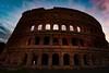 Lovely evening (Tatjana Popova) Tags: coliseum rome italy italian evening light sky architecture new experience wide angle lens photography photographer shooting shoots