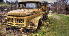 Time does not forgive (M Malinov) Tags: truck autotruck old oldest machine time engine camion