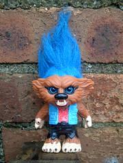 Weretroll (The Moog Image Dump) Tags: weretroll werewolf wolf teen troll toy ljn 1993 vintage novelty figure
