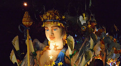 Star-Dappled (BKHagar *Kim*) Tags: bkhagar mardigras neworleans nola parade celebration float floats lights throws beads outdoor night street napoleon uptown