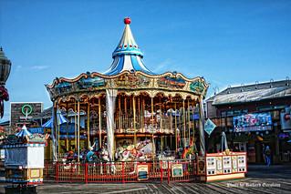 Carousel on Pier 39 San Francisco Bay