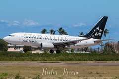 N13720 Star Alliance  United Airlines (Hector A Rivera Valentin) Tags: split scimitars boeing 737724 737700 star alliance united airlines n13720 aguadilla borinquen bqn airport tjbq field puerto rico cockpit pilot avgeek