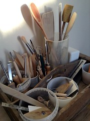 Pottery Tool Box (Jude Allman) Tags: pottery tools craft ceramics crafts