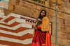 Varanasi. Uttar Pradesh. India. (Tito Dalmau) Tags: street portrait woman pilgrim varanasi uttarpradesh india