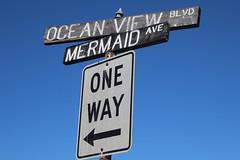 IMG_7655a (mudsharkalex) Tags: california pacificgrove pacificgroveca mermaidavenue mermaid sirena sign signs