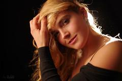 Allurement (RickB500) Tags: portrait girl rickb rickb500 model beauty expression face cute hair felice allurement blonde