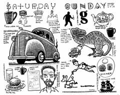 My weekend (Don Moyer) Tags: weekend ink drawing moleskine notebook moyer donmoyer brushpen